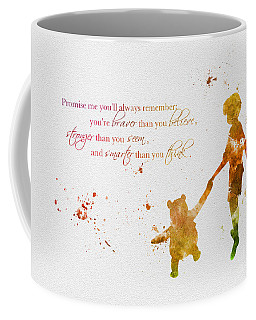 Promise Me You'll Always Remember Coffee Mug by Rebecca Jenkins