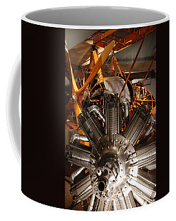 Prop Plane Engine Illuminated Coffee Mug