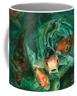 Prosperity Koi Coffee Mug
