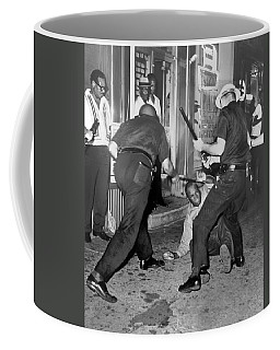 Protester Clubbed In Harlem Coffee Mug