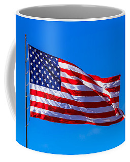 Proud And Free Coffee Mug by Doug Long