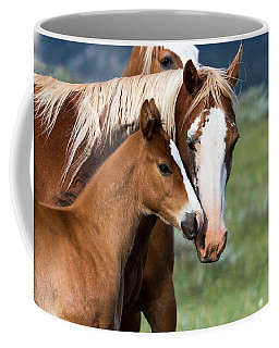 Coffee Mug featuring the photograph Proud Mommy by Michael Chatt