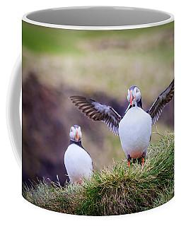 Proud Puffin Coffee Mug