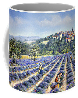Provencal Harvest Coffee Mug by Rosemary Colyer
