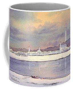 Provincetown Evening Lights Coffee Mug