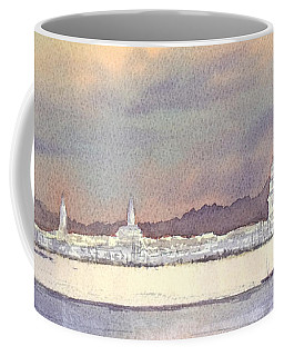 Provincetown Evening Lights Coffee Mug