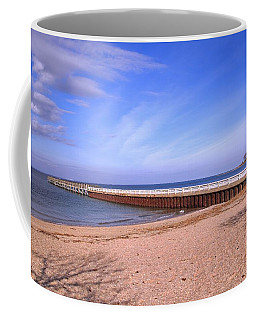 Prybil Beach Pier Coffee Mug