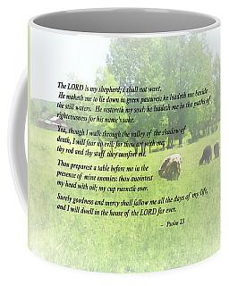 Psalm 23 The Lord Is My Shepherd Coffee Mug