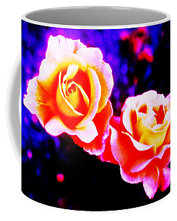 Psychedelic Roses Coffee Mug