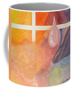 Psychedelic Tear Coffee Mug by Tim Townsend