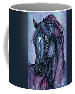 Psychodelic Deep Blue Coffee Mug