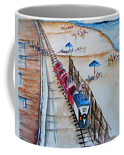 Pt Pleasant Nj Sand Train Coffee Mug