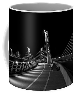 Ptuj Bridge Bw Coffee Mug