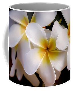 Pua Melia Ke'oke'o Coffee Mug