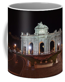 Puerta De Alcala At Night Coffee Mug