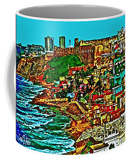 Puerto Rico Old San Juan  Coffee Mug