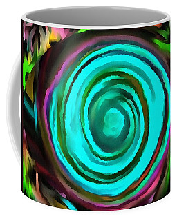 Coffee Mug featuring the digital art Pulled by Catherine Lott