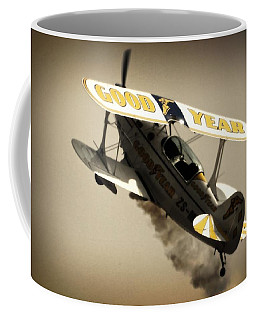 Pulling Up Coffee Mug