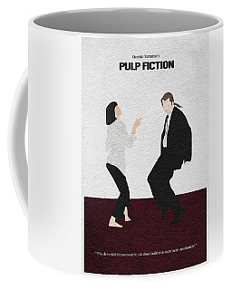 Pulp Fiction 2 Coffee Mug by Ayse Deniz