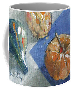 Pumpkin And Gourds Still Life Coffee Mug