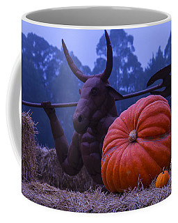 Pumpkin And Minotaur Coffee Mug