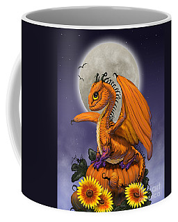 Pumpkin Dragon Coffee Mug
