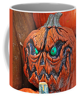 Pumpkin Face Coffee Mug