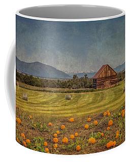 Pumpkin Field Moon Shack Coffee Mug