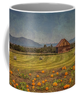 Pumpkin Field Moon Shack Coffee Mug