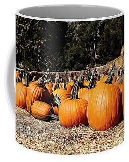 Pumpkin Goofing Off Coffee Mug