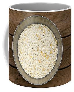 Pumpkin Seeds In A Bucket Coffee Mug