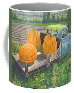 Pumpkin Truck Coffee Mug