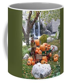 Pumpkin Waterfall Coffee Mug