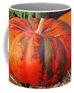 Coffee Mug featuring the photograph Pumpkins by Cynthia Guinn