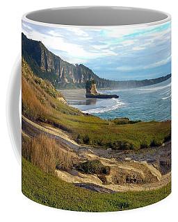 Coffee Mug featuring the photograph Punakaiki Truman Track by Stuart Litoff