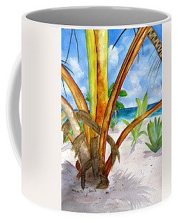 Punta Cana Beach Palm Coffee Mug
