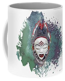 Punu Mask - Maiden Spirit Mukudji Coffee Mug