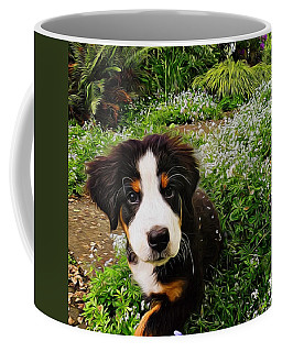 Puppy Art - Little Lily Coffee Mug