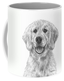 Puppy Golden Retriever Coffee Mug