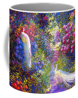 White Peacocks, Pure Bliss Coffee Mug
