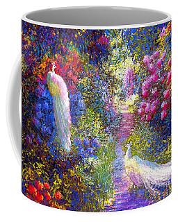 White Peacocks, Pure Bliss Coffee Mug