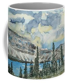 Pure North - Bow Lake Alberta Coffee Mug