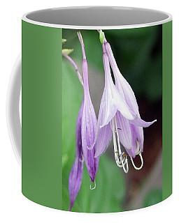 Purple And White Fuchsia Coffee Mug