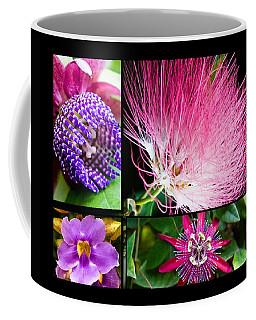 Purple Bouquet Coffee Mug by Melinda Ledsome