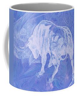 Purple Bull Negative Coffee Mug