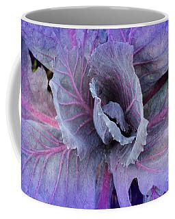 Purple Cabbage - Vegetable - Garden Coffee Mug
