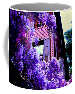 Coffee Mug featuring the photograph Purple Cheer by Zafer Gurel