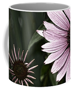 Purple Coneflower Imperfection Coffee Mug