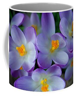 Purple Crocus Gems Coffee Mug