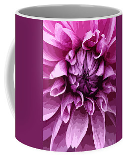 Purple Dahlia  Coffee Mug